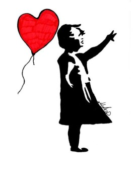 A Child by Banksy