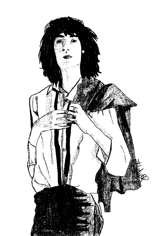 horses_pattismith